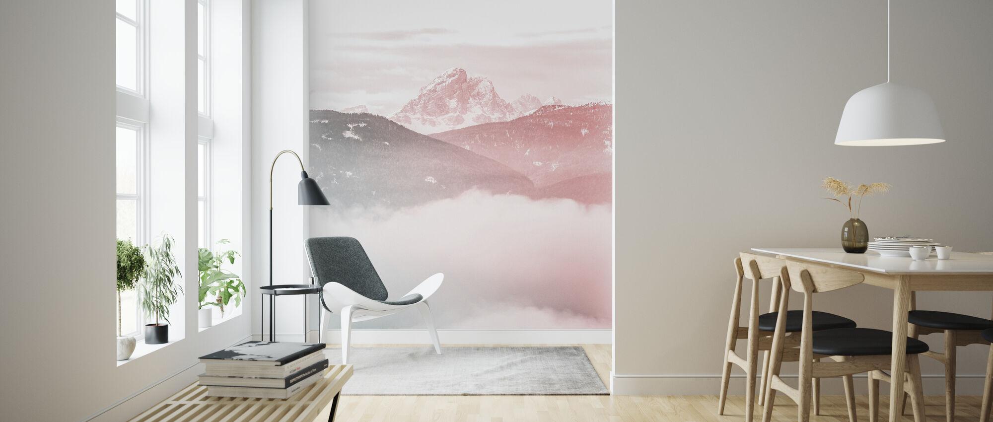 Molnigt berg - Tapet - Vardagsrum