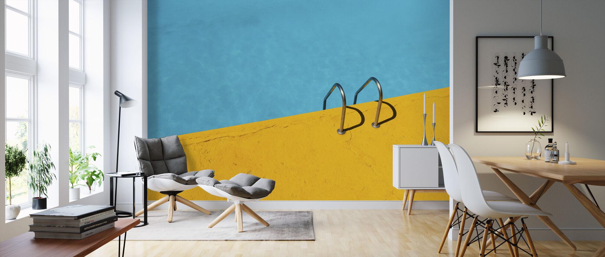 Swimming Pool Handrail - Wallpaper - Living Room