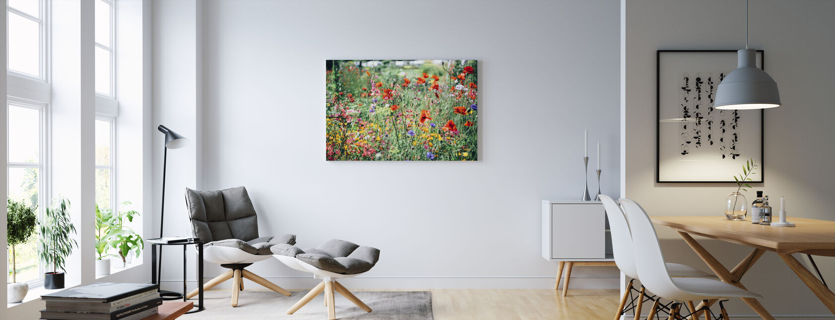 Beautiful Wildflower - Canvas print - Living Room