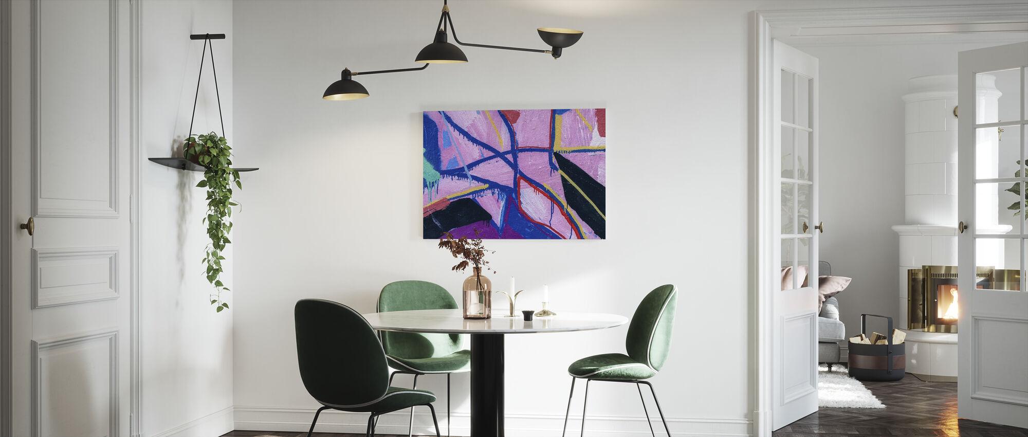 Colorful Paint - Canvas print - Kitchen