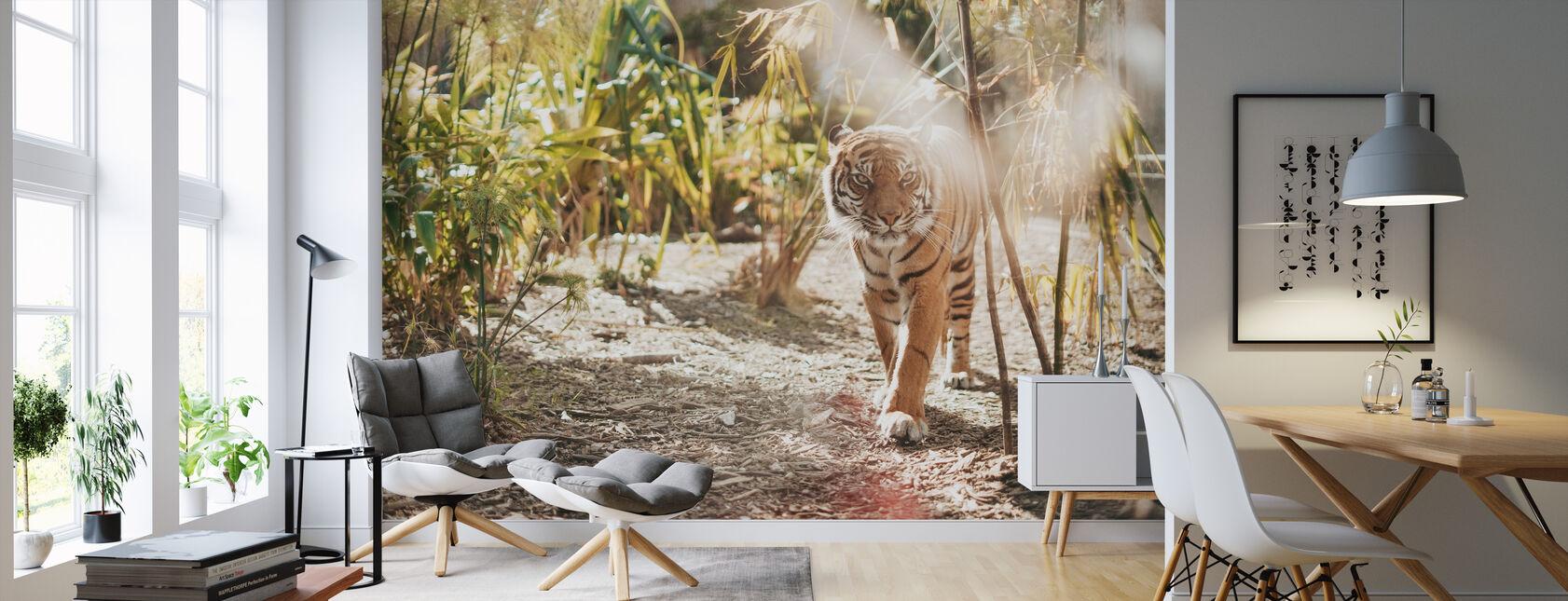 Großer Tiger - Tapete - Wohnzimmer