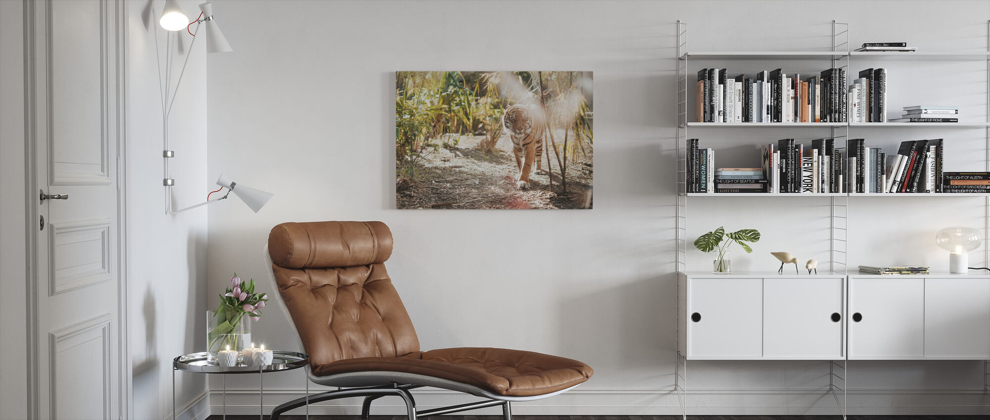 Big Tiger - Canvas print - Living Room