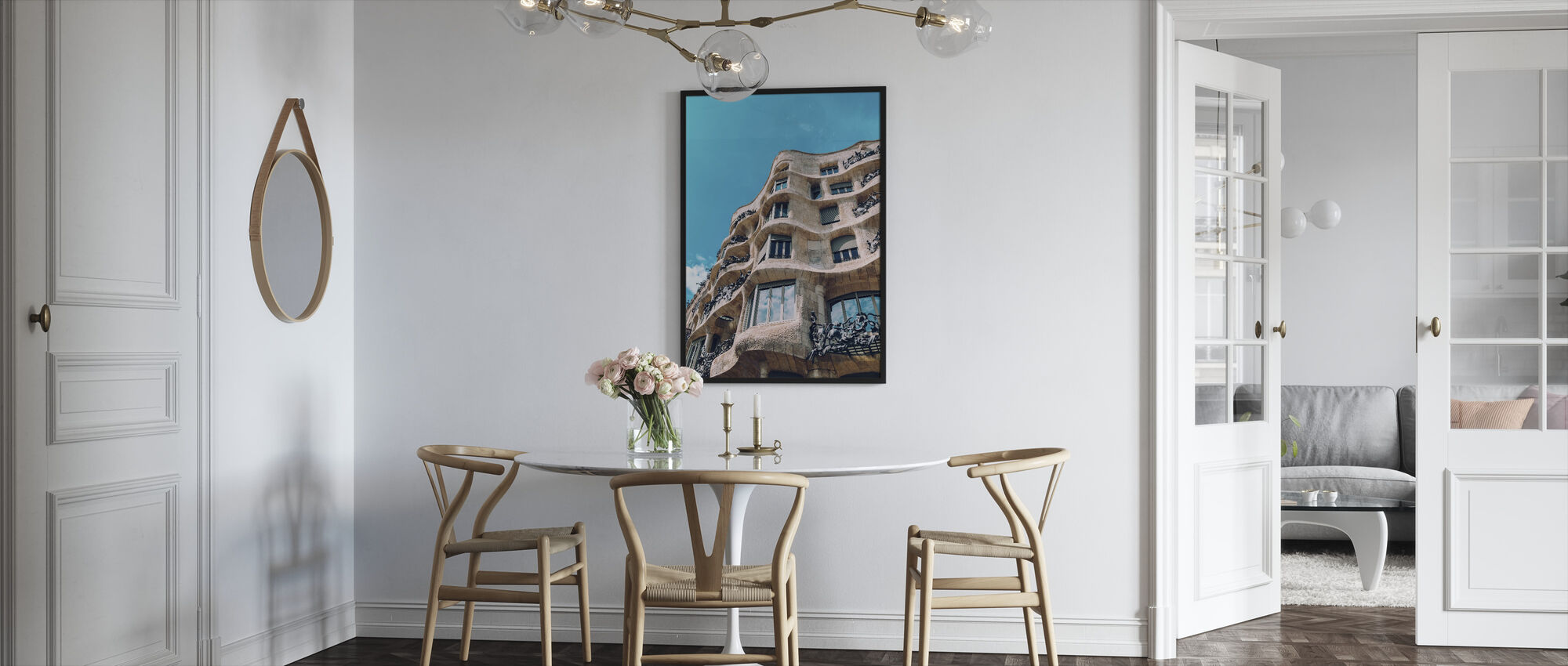 Casa Mila Building - Framed print - Kitchen