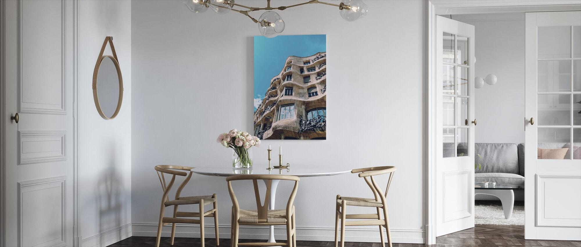 Casa Mila Byggnaden - Canvastavla - Kök