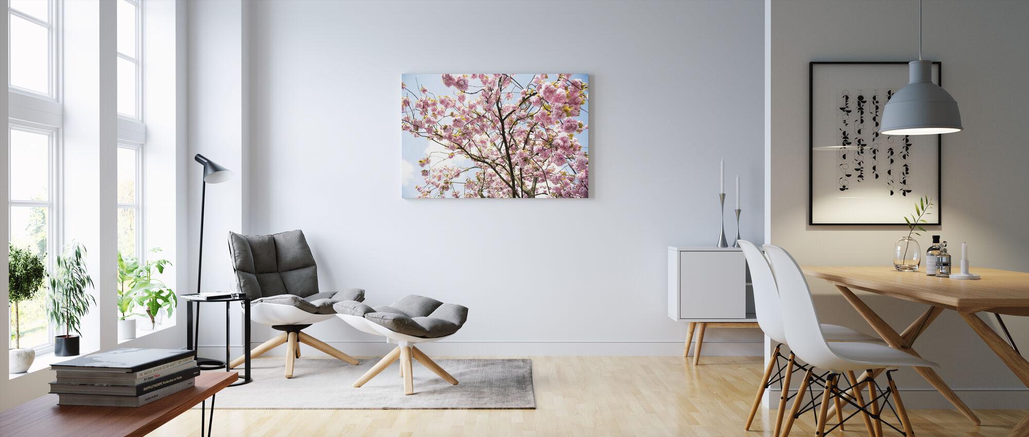 Cherry Blossoms - Canvas print - Living Room