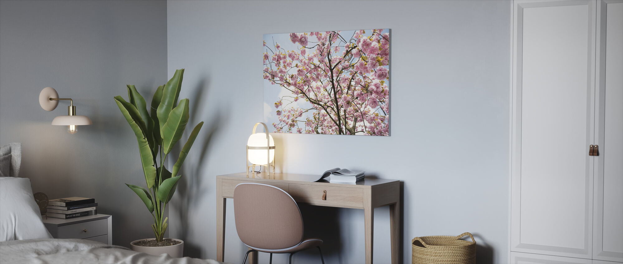 Cherry Blossoms - Canvas print - Office