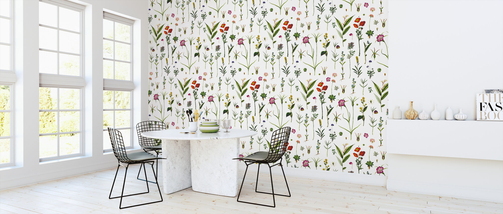 Botanical Morning - Wallpaper - Kitchen