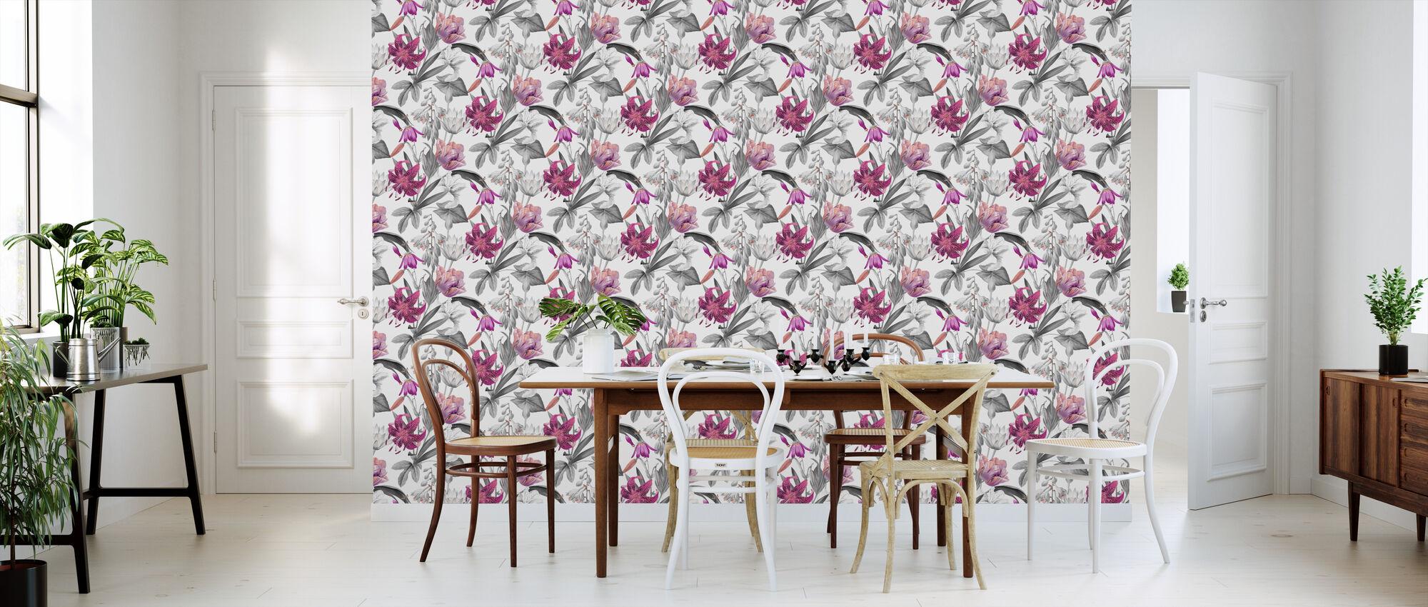 Flowers of Spring - Wallpaper - Kitchen