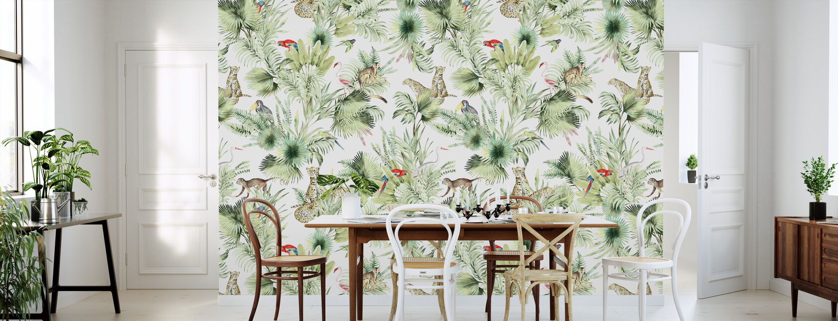 In the Jungle - Wallpaper - Kitchen