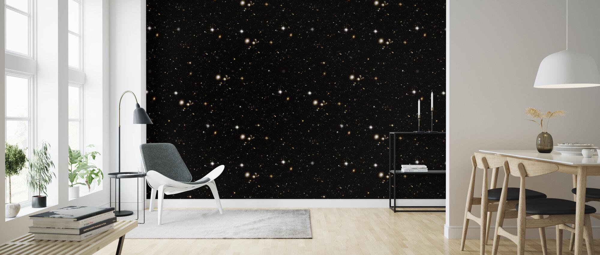 Black Stars - Wallpaper - Living Room