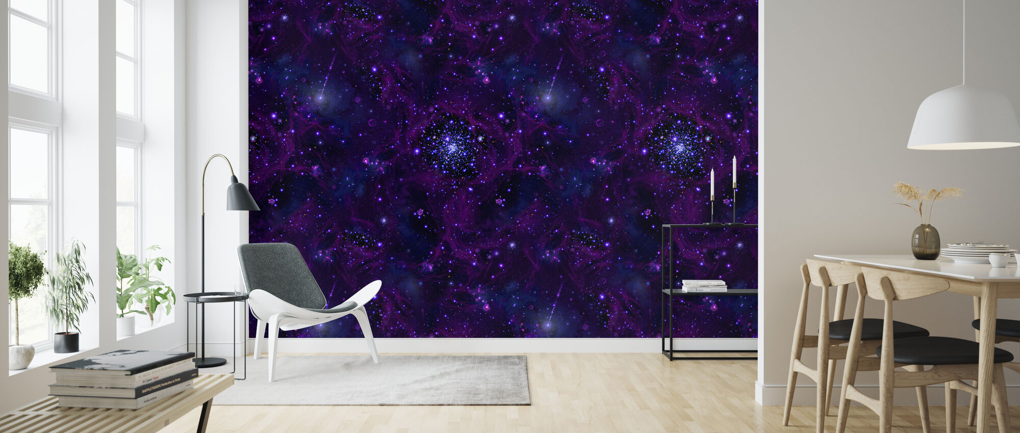 Deep Sea - Wallpaper - Living Room