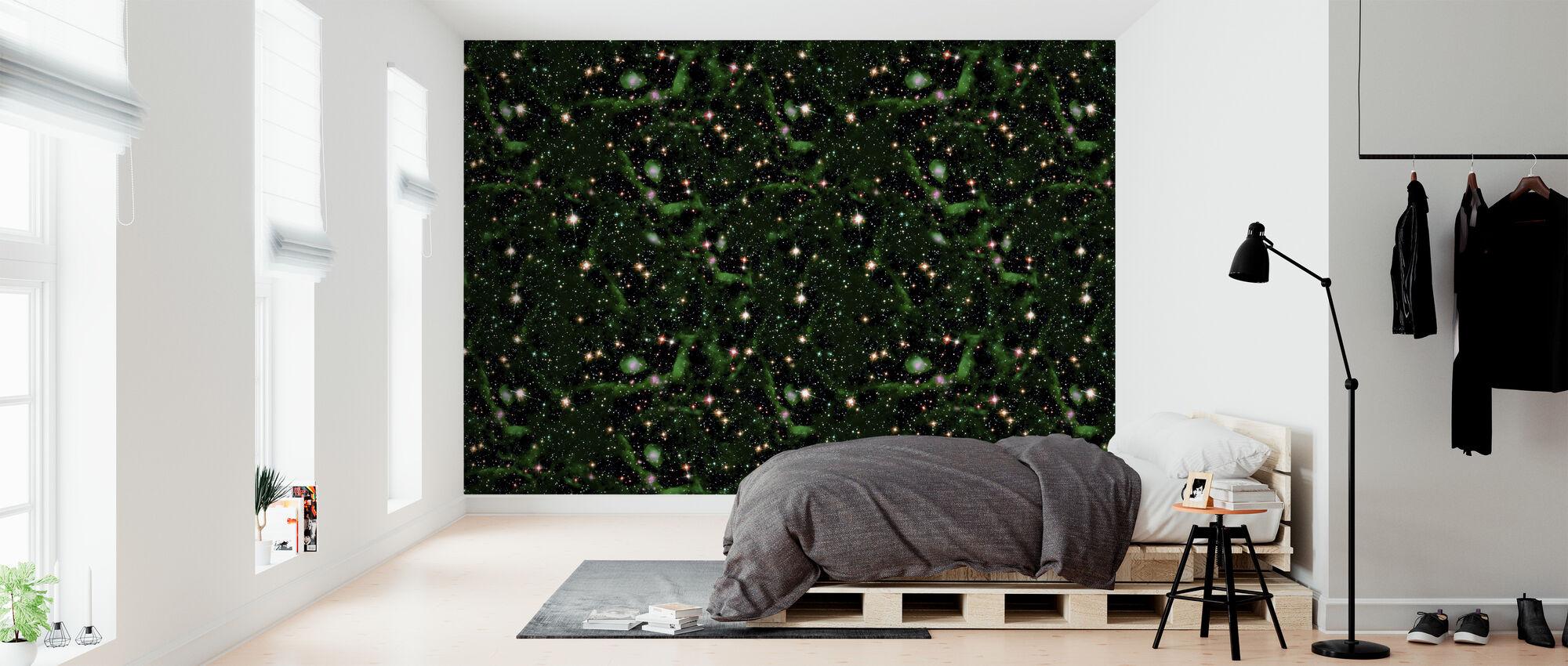 Smaragd - Tapet - Soverom