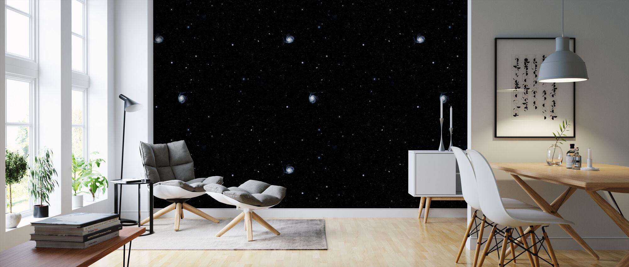 Galaxys - Wallpaper - Living Room