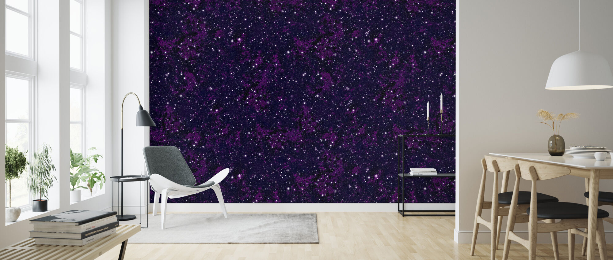 Purps - Wallpaper - Living Room