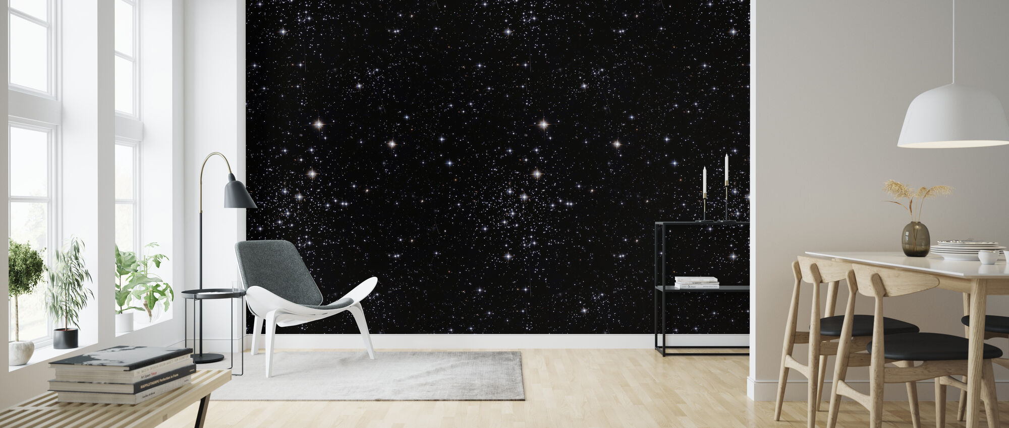 Star Night - Wallpaper - Living Room