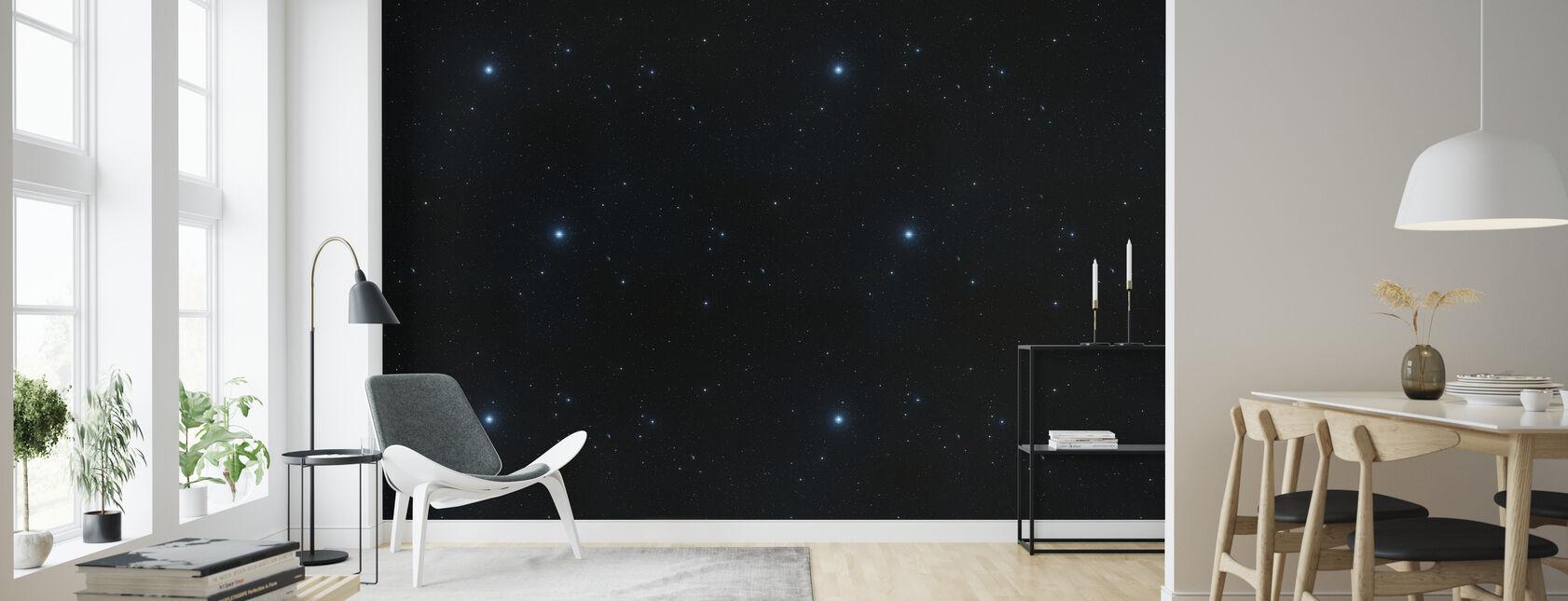 Stjärnly - Tapet - Vardagsrum