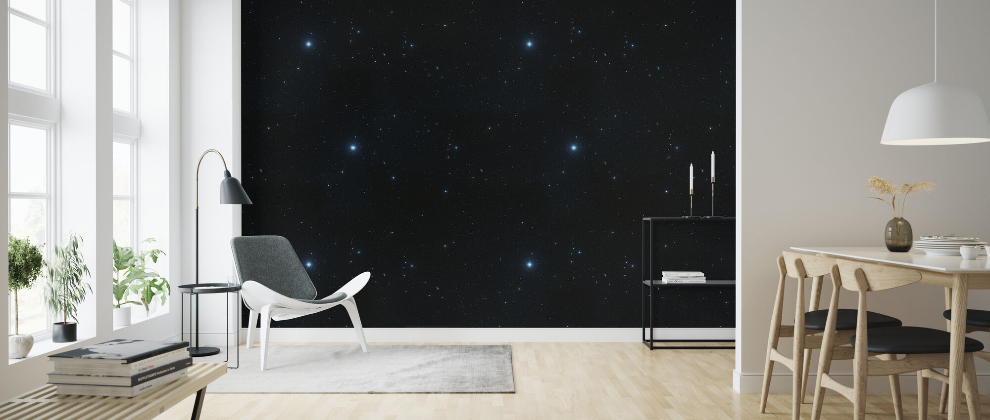 Starly - Wallpaper - Living Room