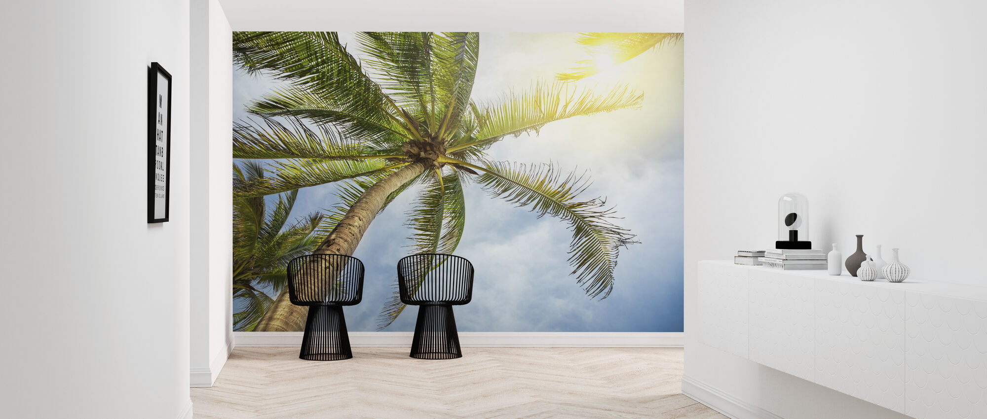 Chaum Tropical - Wallpaper - Hallway
