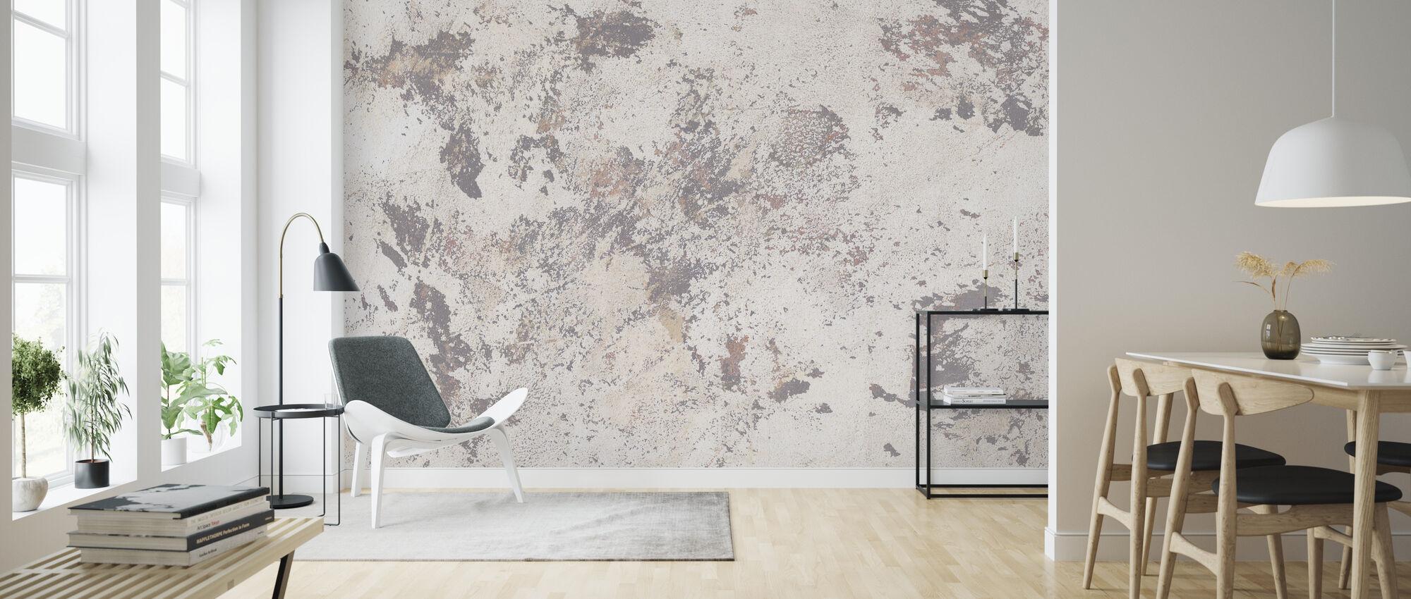 Light Spotted Wall - Wallpaper - Living Room