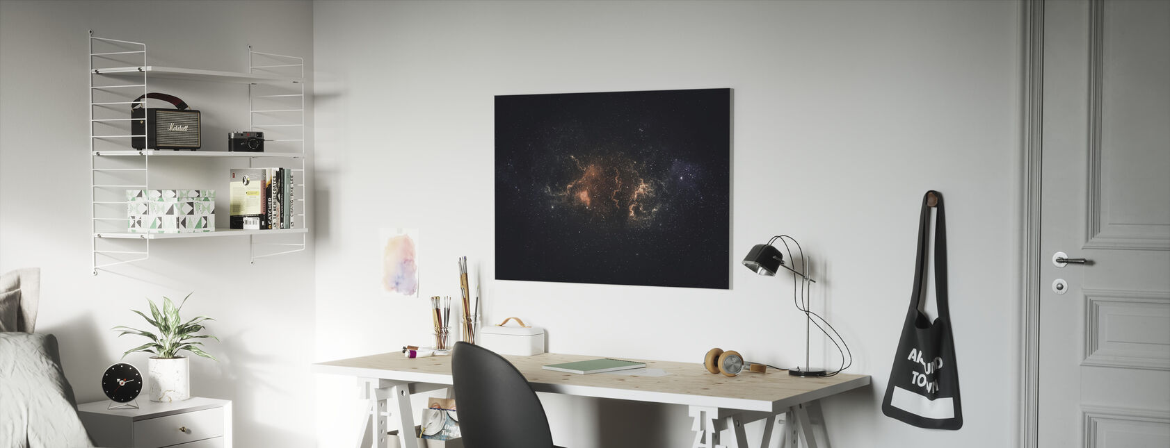 Outer Space Plasma - Canvas print - Kids Room