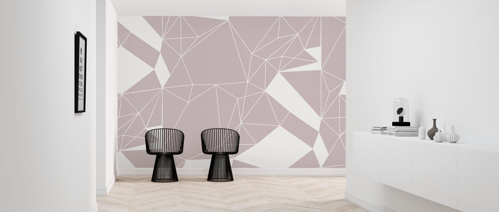 Polygon stil - Tapet - Hall