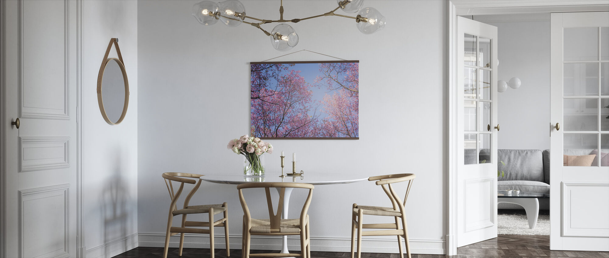 Sky Trees - Poster - Kitchen