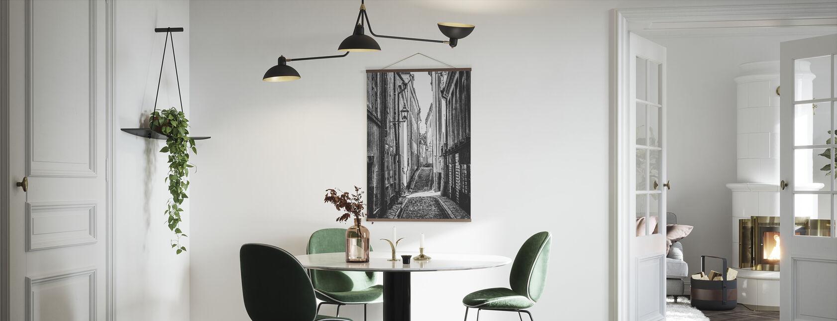Streets of Stockholm - Poster - Kitchen