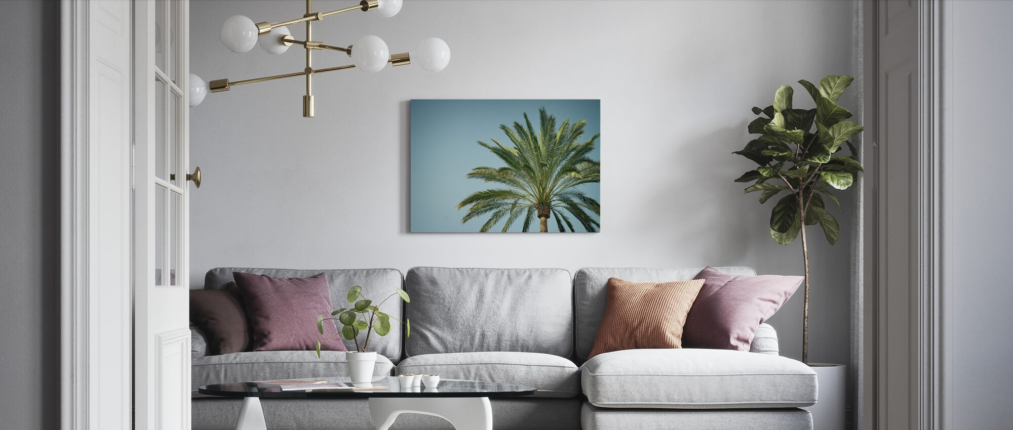 Sunny Hawaii - Canvas print - Living Room