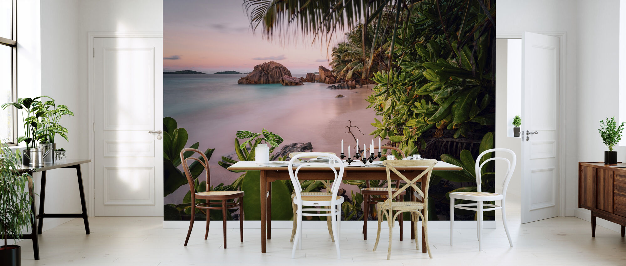 Rolig Paradise - Tapet - Kjøkken