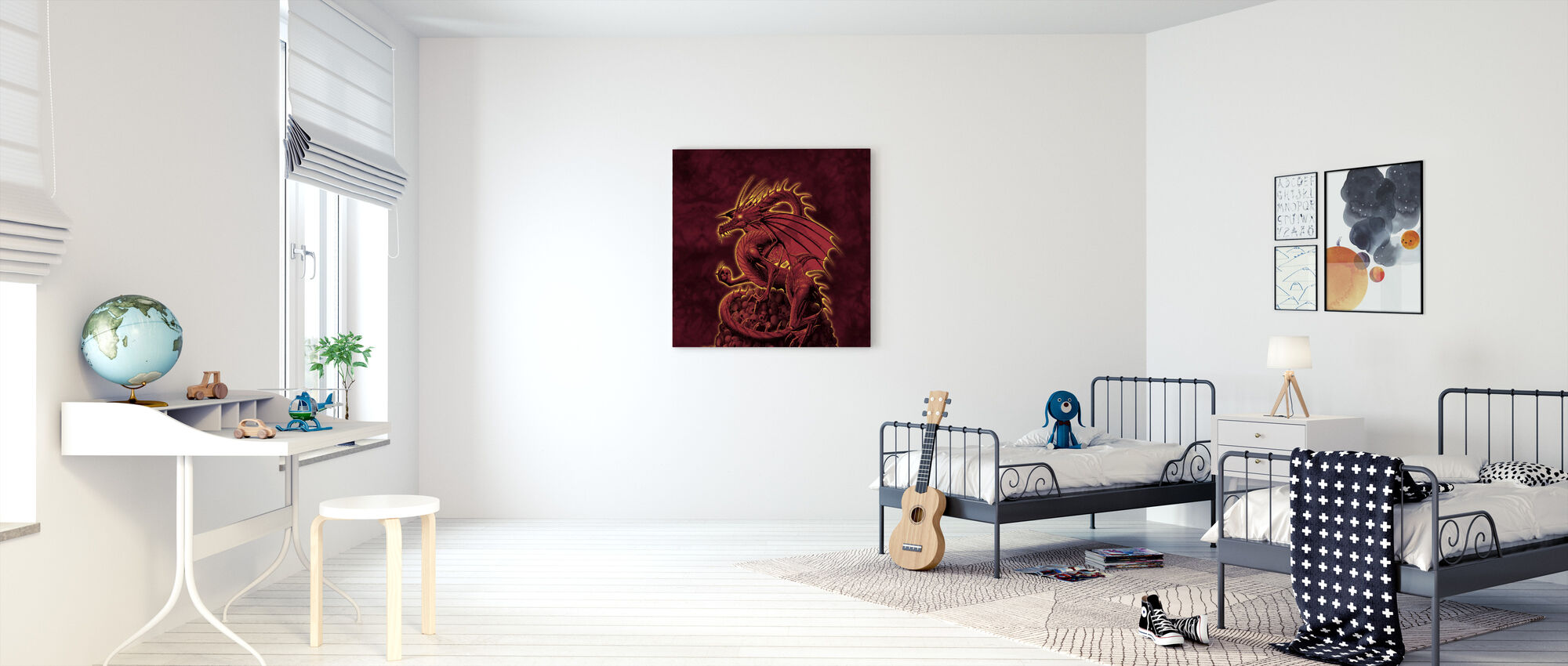 Abolisher Red Version - Canvas print - Kids Room