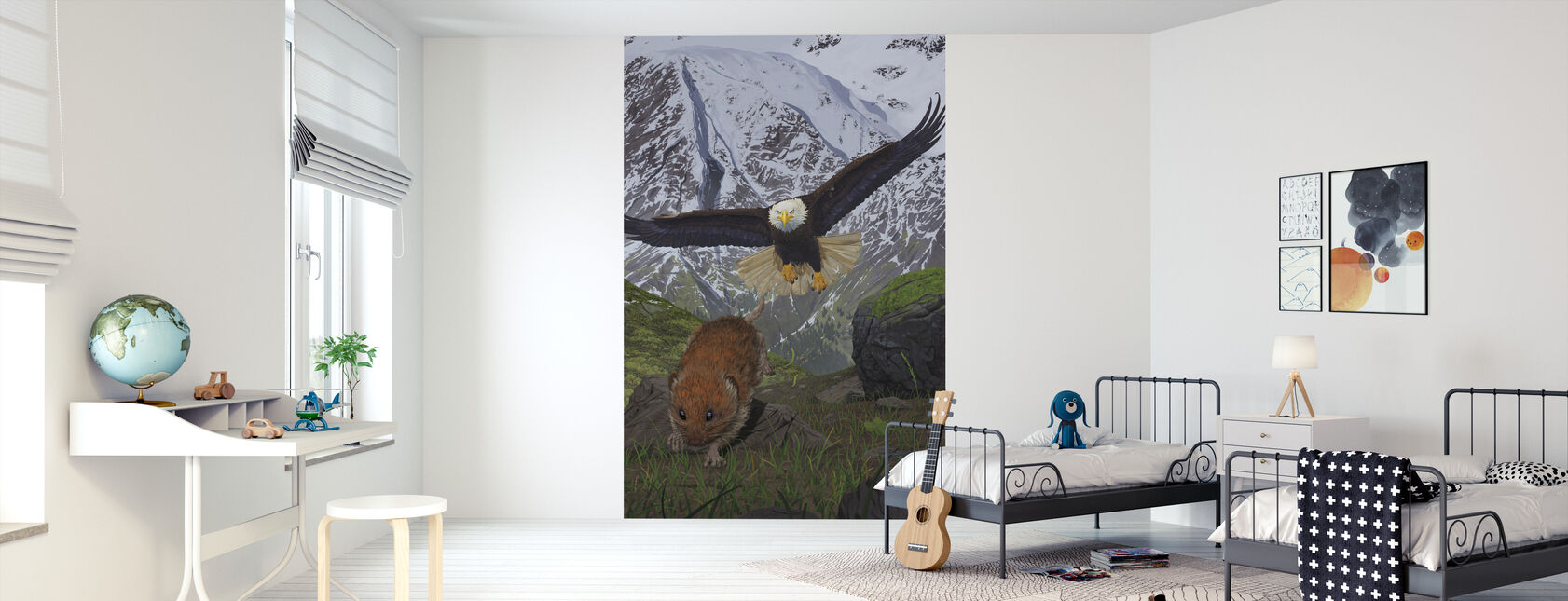 Alaska - Wallpaper - Kids Room