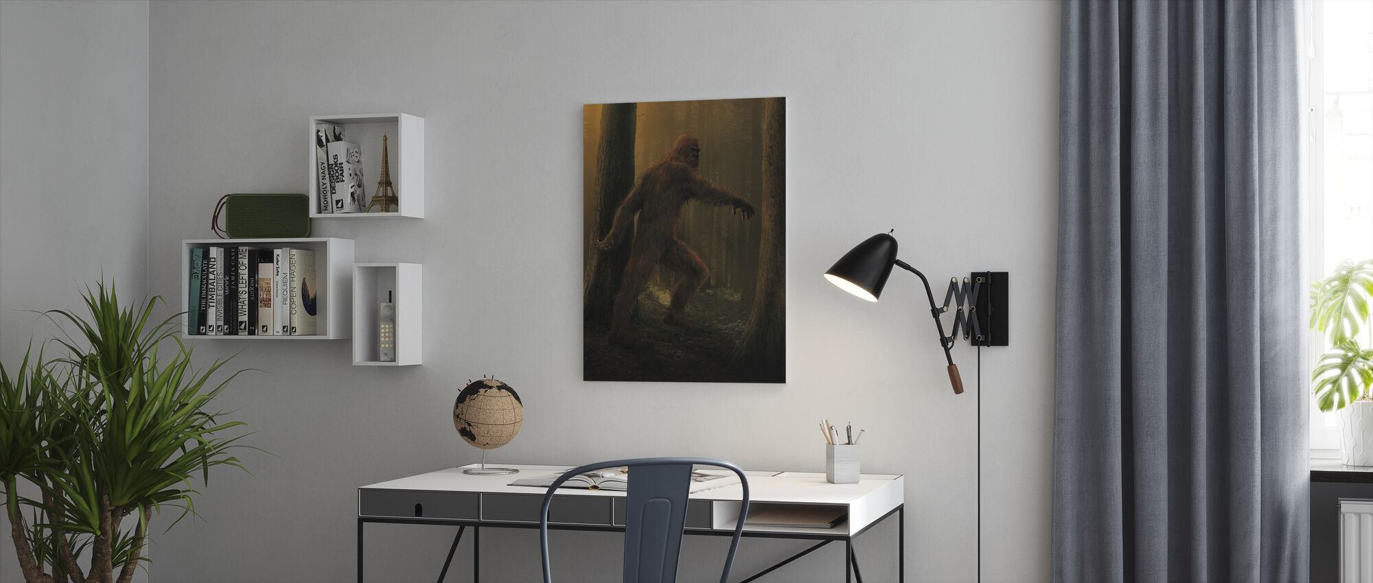 Bigfoot - Canvas print - Office