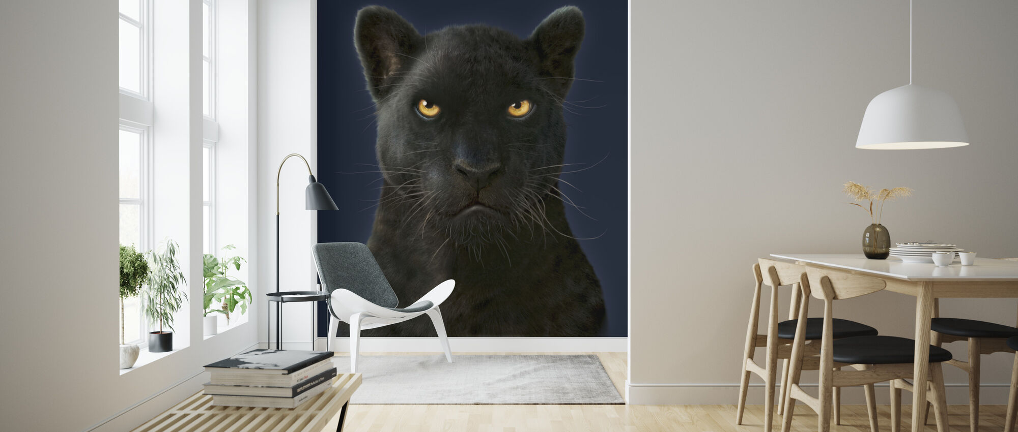 Black Panther Portrait High Quality Wall Murals With Free Us Delivery Photowall