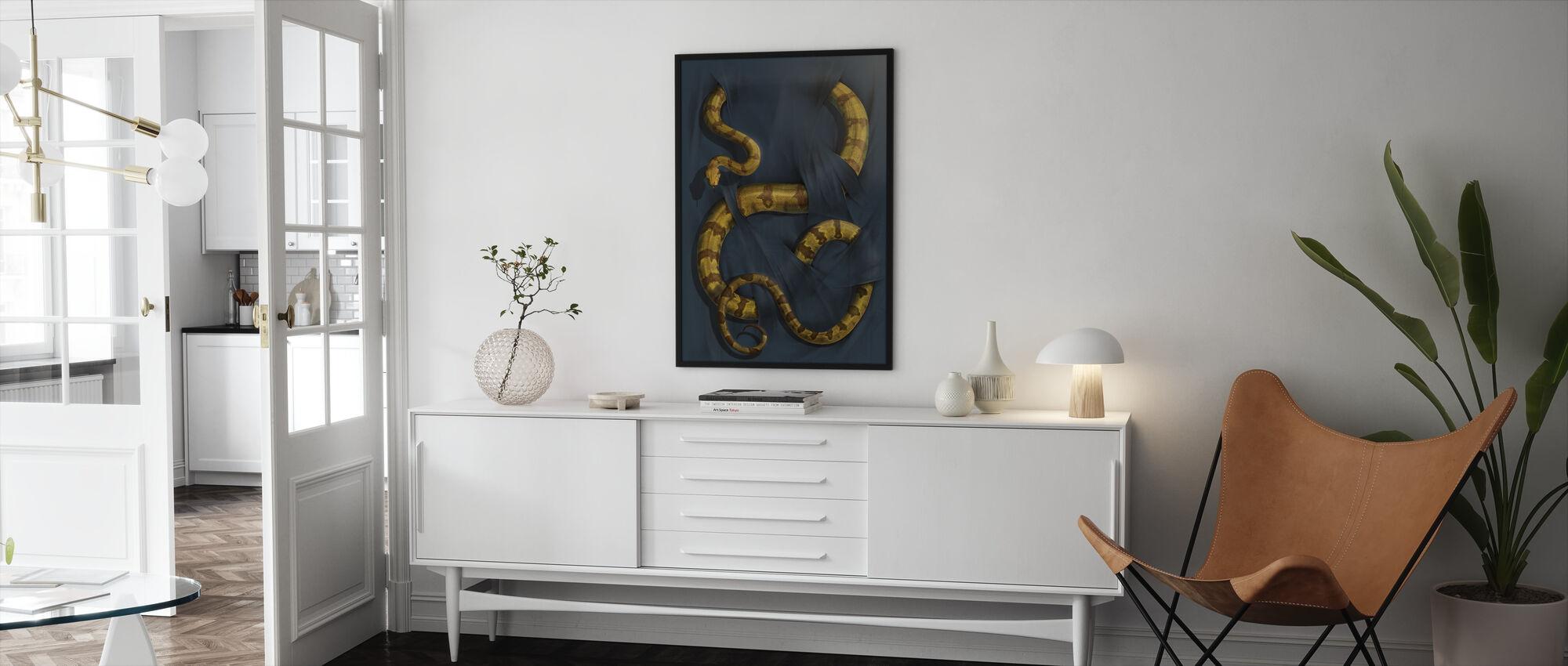 Boa Constrictor - Innrammet bilde - Stue