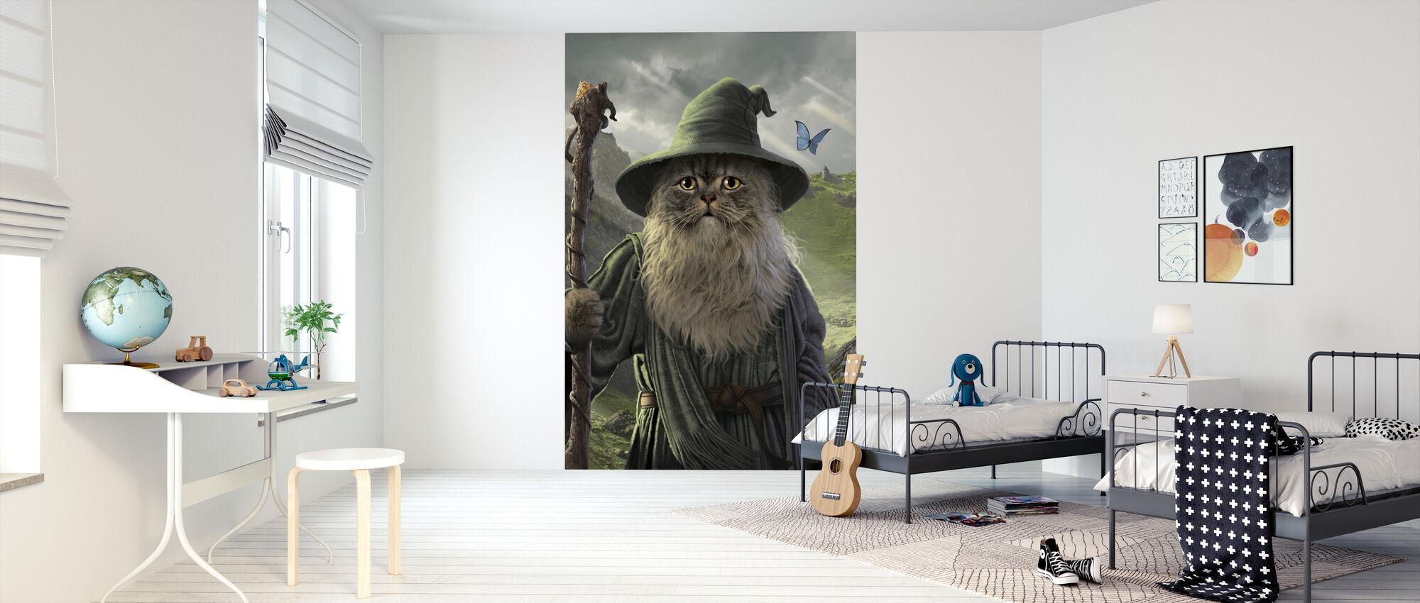 Catdalf - Wallpaper - Kids Room