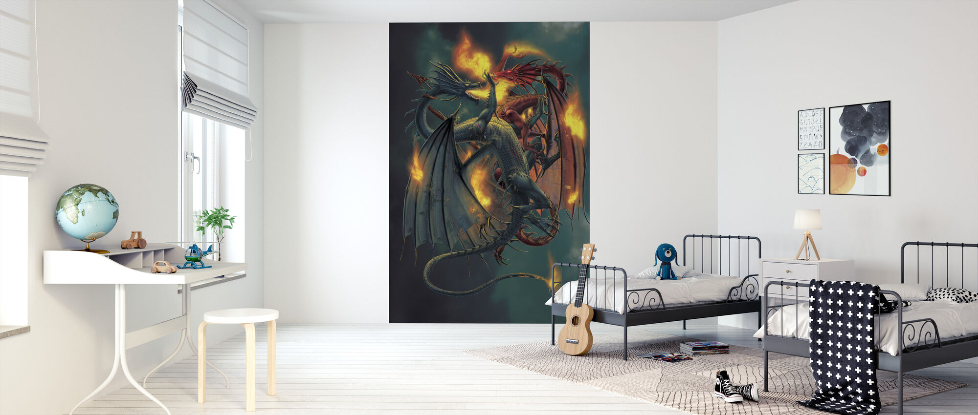 Clash of the Titans - Wallpaper - Kids Room