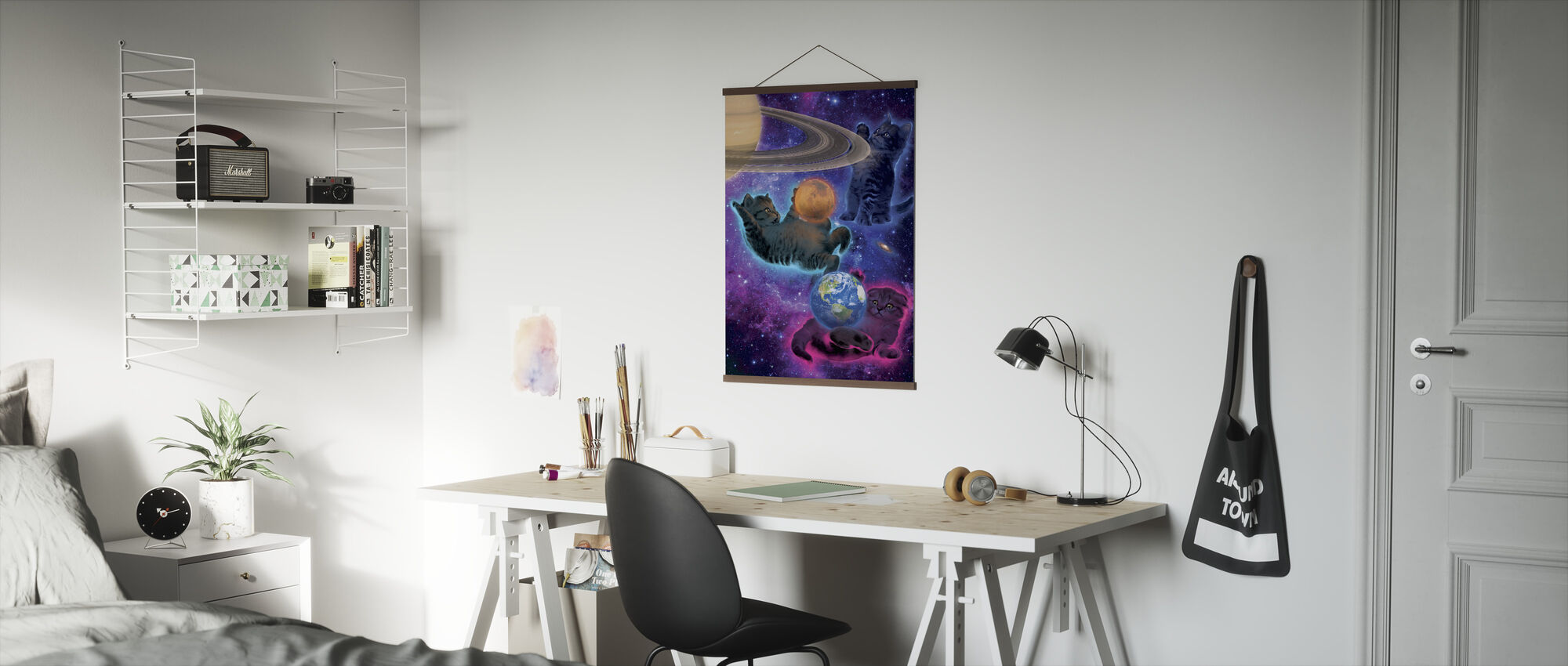 Cosmic Kittens - Poster - Office