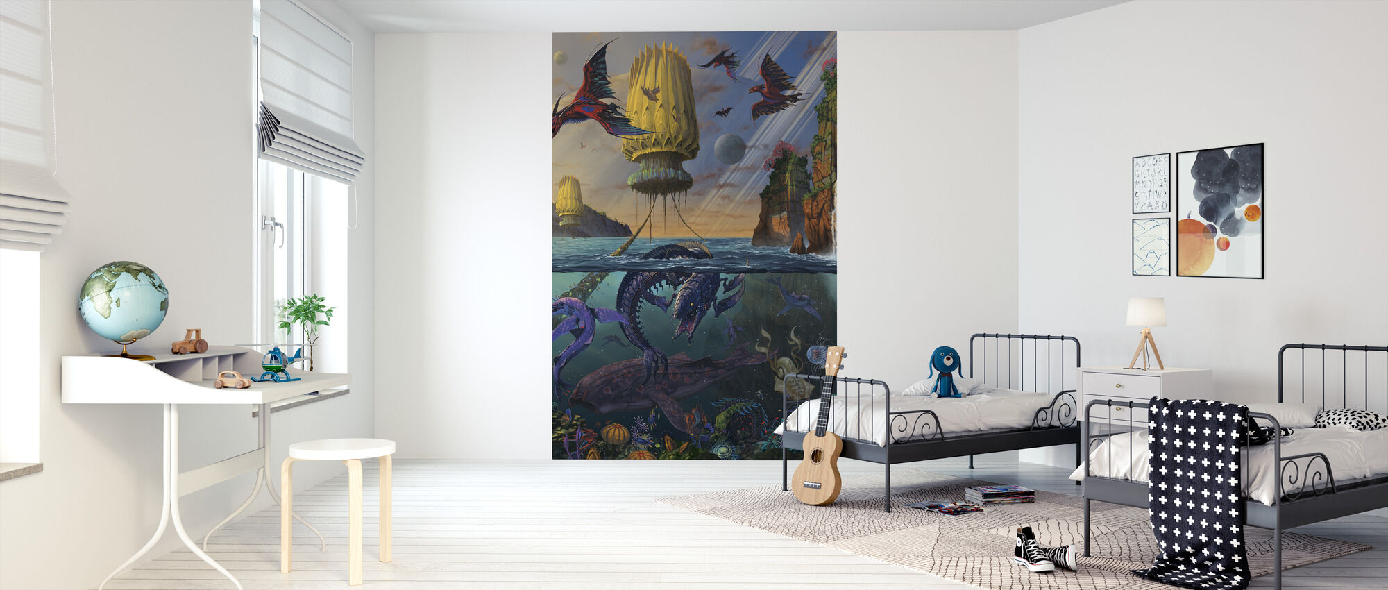 Cyris Undiscovered - Wallpaper - Kids Room