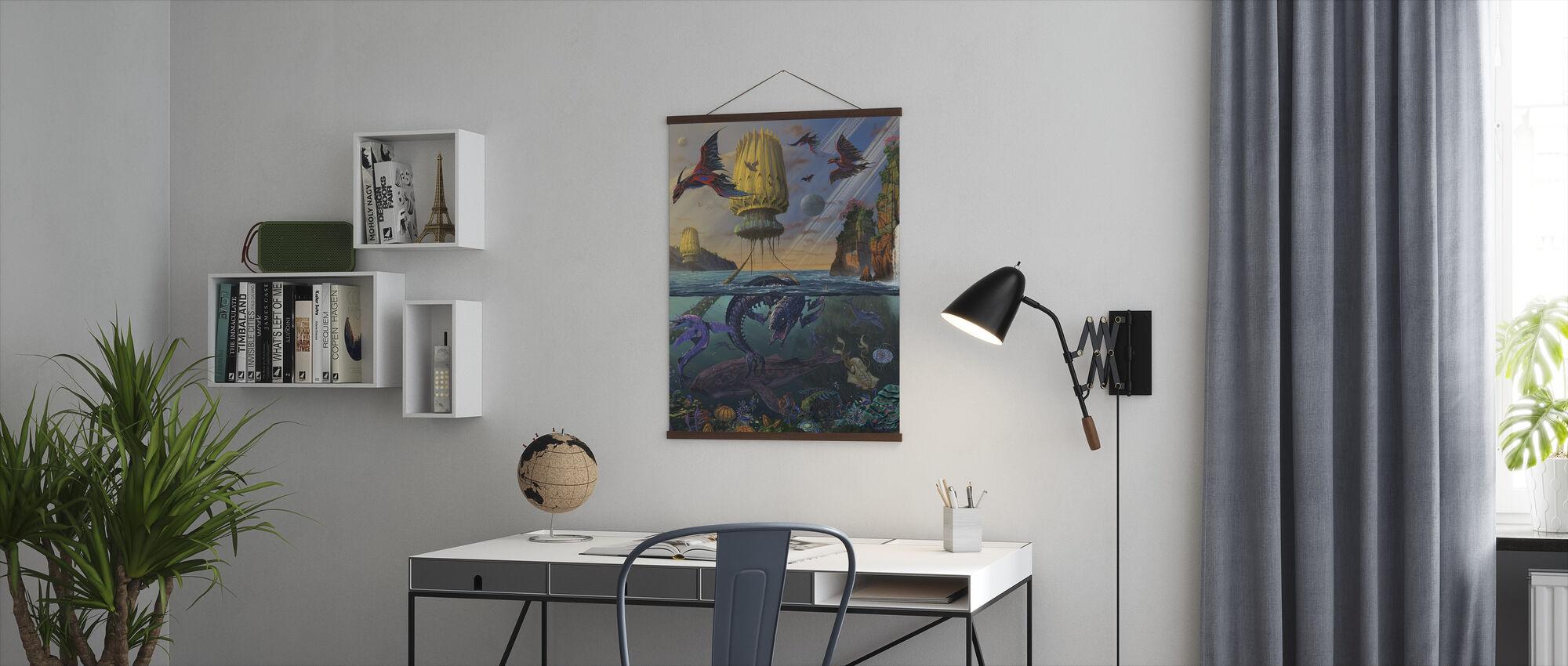 Cyris uoppdaget - Plakat - Kontor