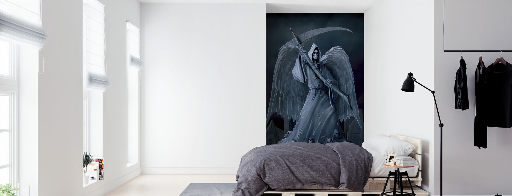 Death on a Hold - Wallpaper - Bedroom