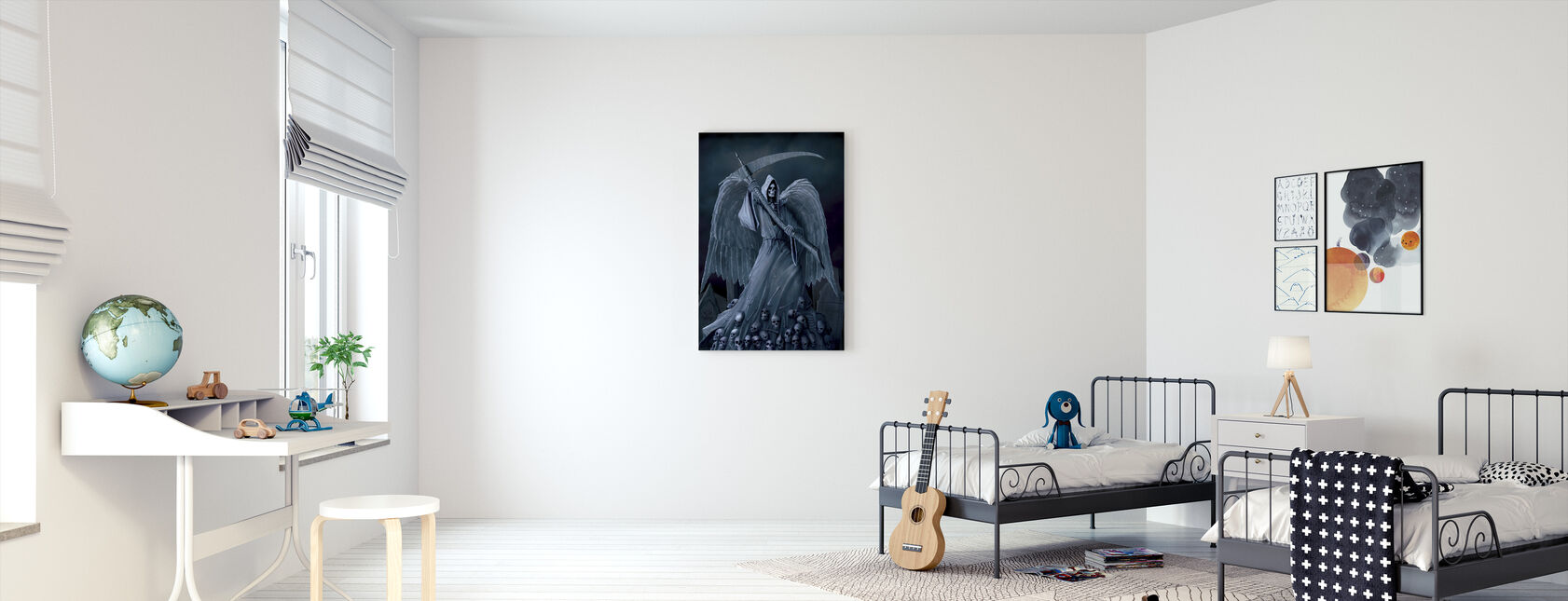 Death on a Hold - Canvas print - Kids Room
