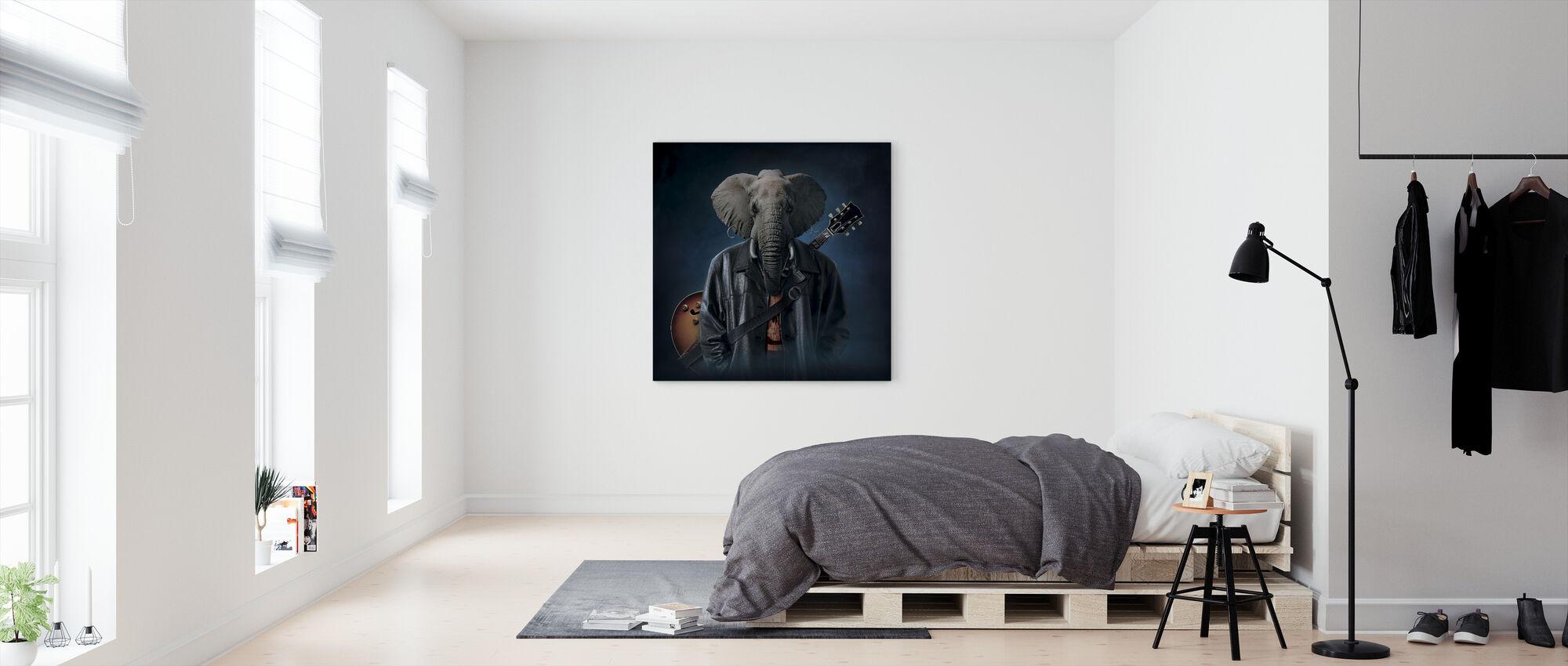 Elephice Cooper - Canvas print - Bedroom