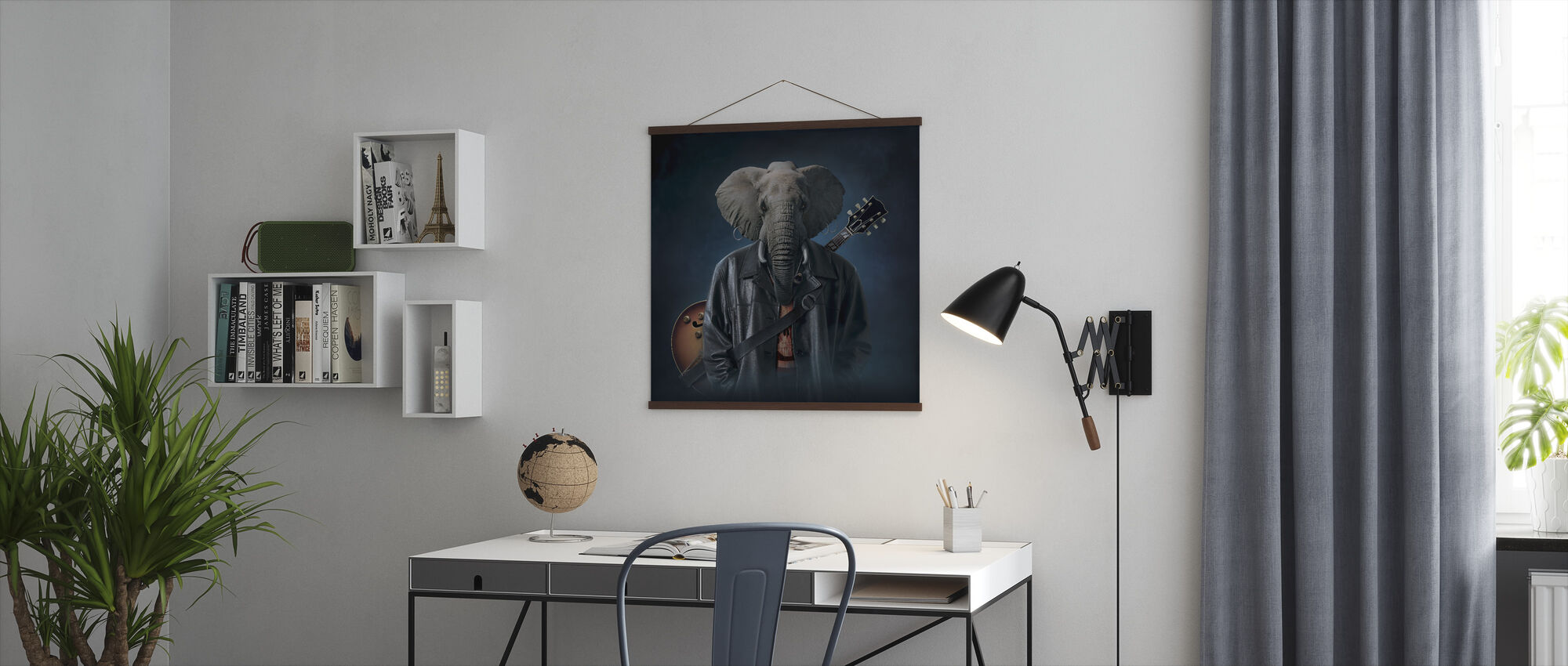 Elephice Cooper - Poster - Office