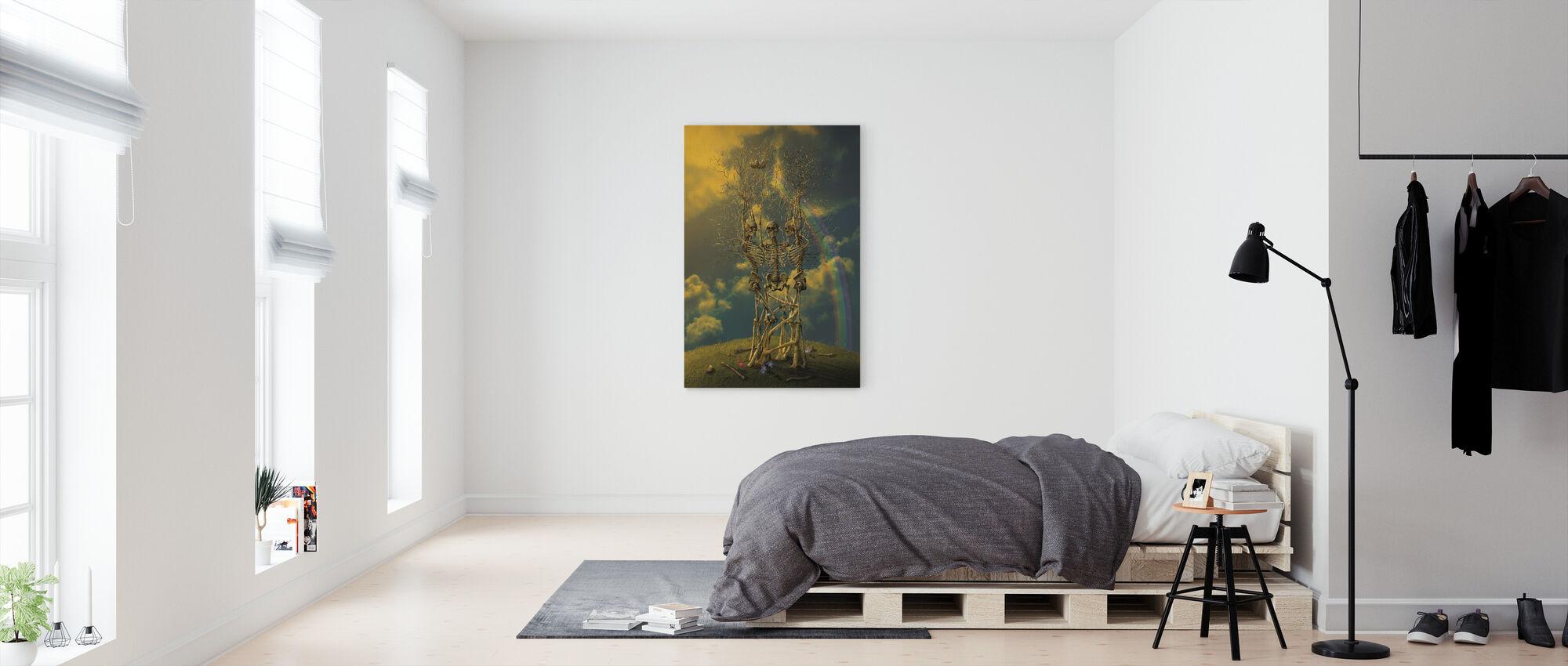 LifeCycle - Canvas print - Bedroom