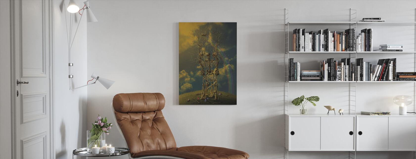 Levenscyclus - Canvas print - Woonkamer