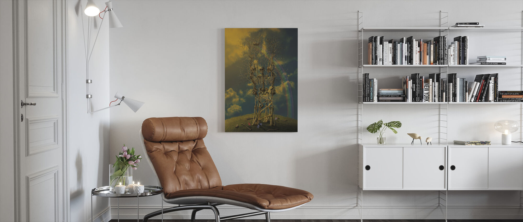 LifeCycle - Canvas print - Living Room
