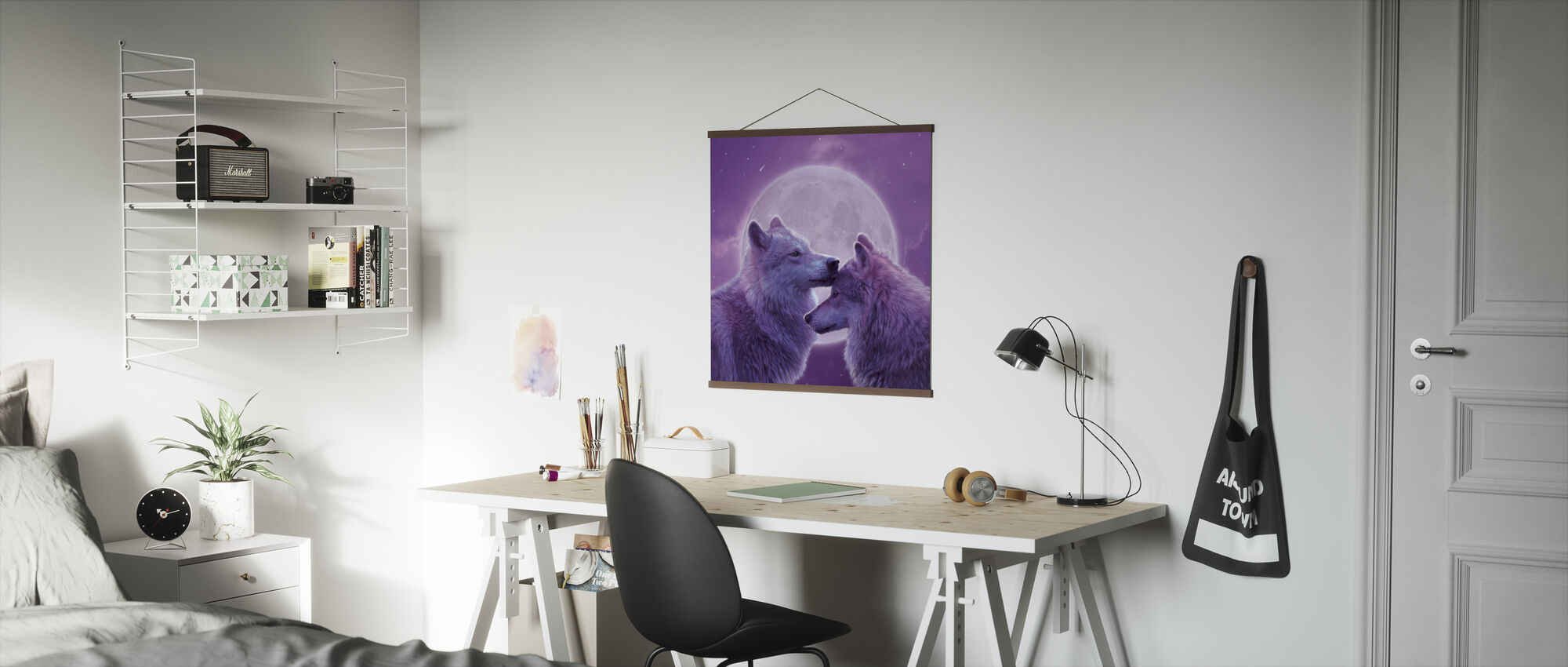 Loving Wolves - Poster - Office
