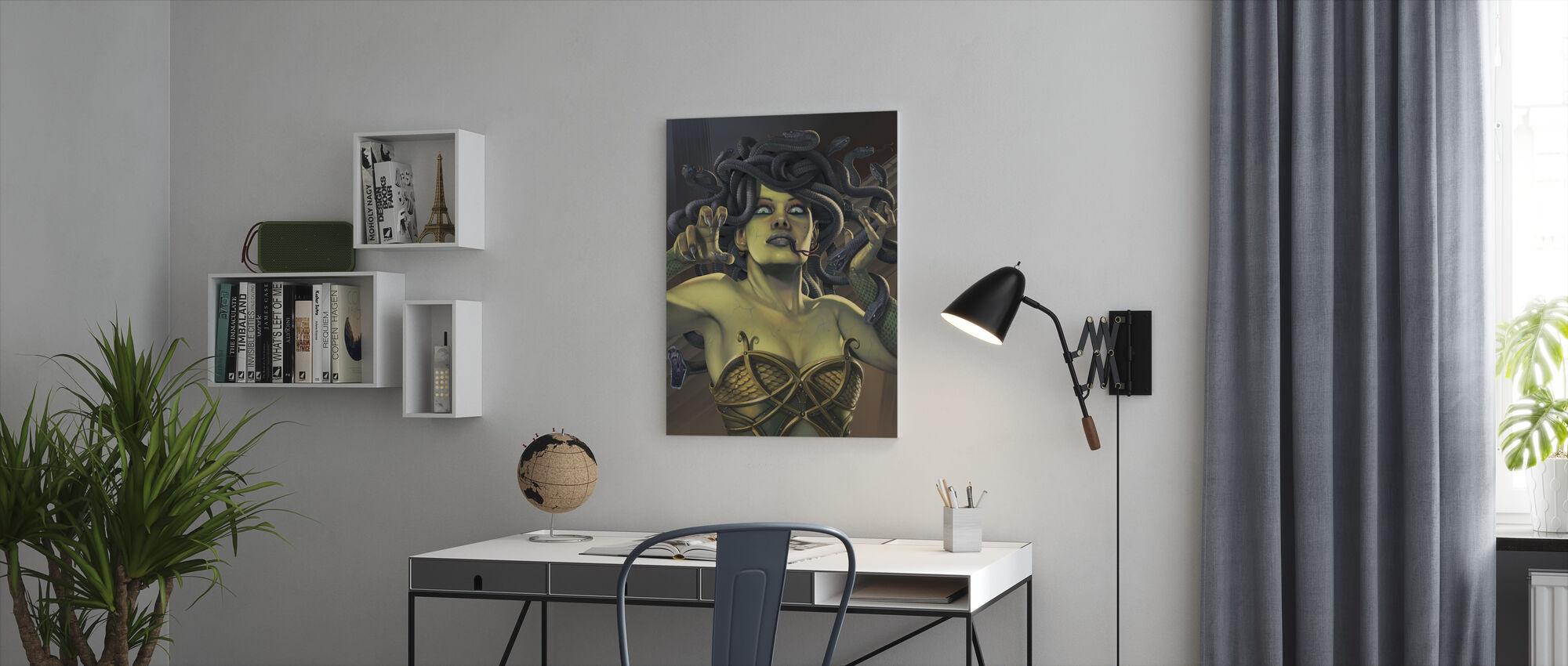Medusa - Canvas print - Office