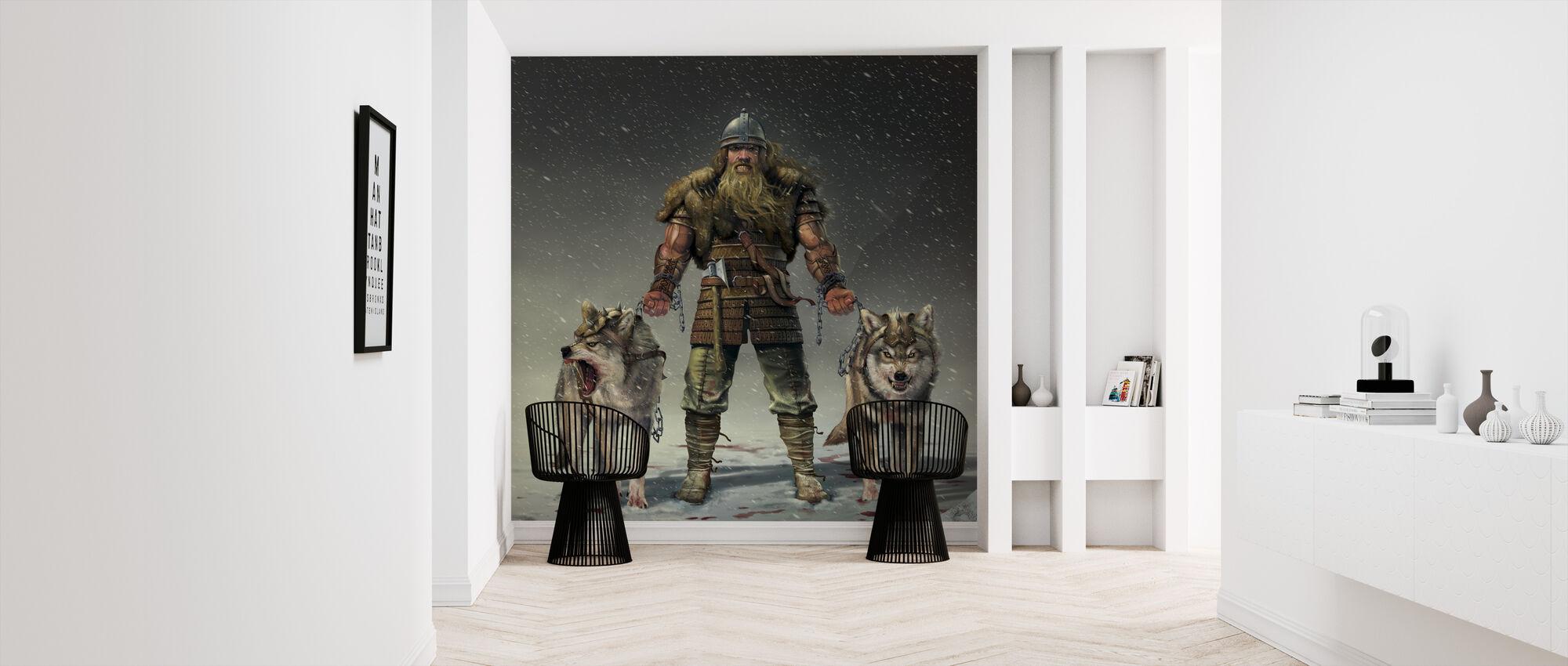 Berg Viking - Behang - Gang