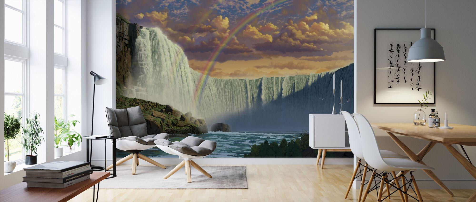 Niagarawatervallen - Behang - Woonkamer